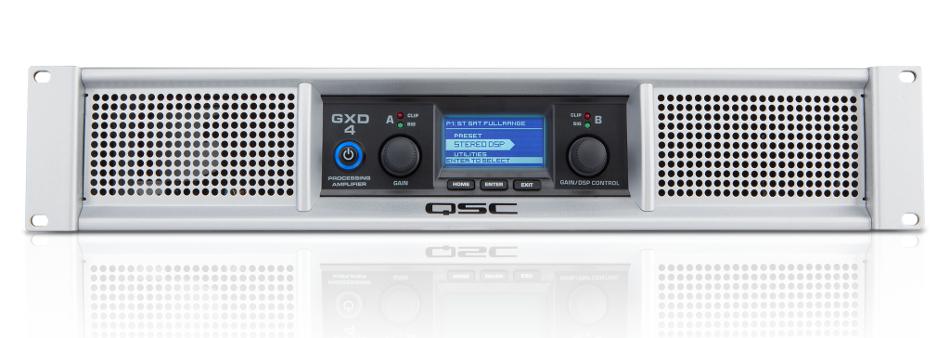 1600 Watt Peak 2-Channel Power Amplifier with DSP