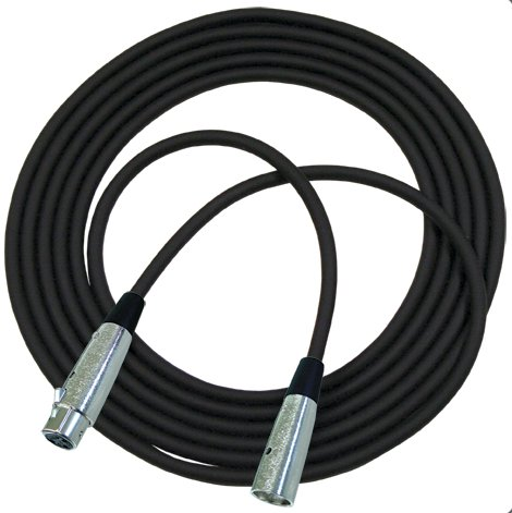 50 ft Concert Series Microphone Cable with Neutrik Connectors