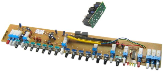 Mono Input Channel PCB for GL2200