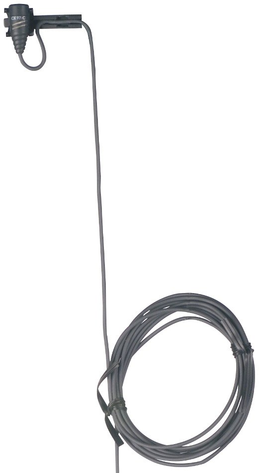 Miniature Cardioid Lapel Microphone with 3-Pin Mini XLR Connector