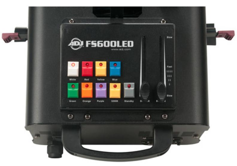 60W LED Follow Spot with LTS6 Tripod Stand