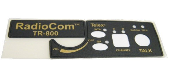 Front Label for TR800