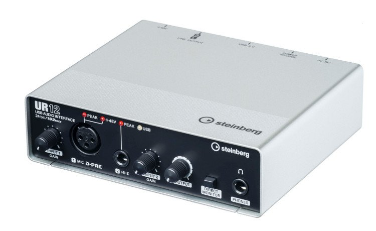 24-Bit/192kHz USB 2.0 Audio Interface