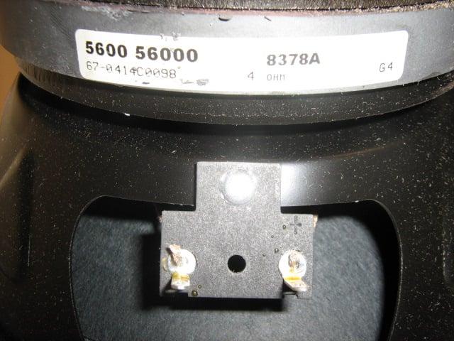 """8"""" Woofer for EV MS802"""
