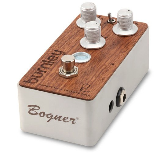 Overdrive Effects Pedal in Bubinga