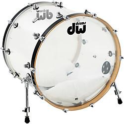 "18x22"" Design Series Clear Acrylic Bass Drum"