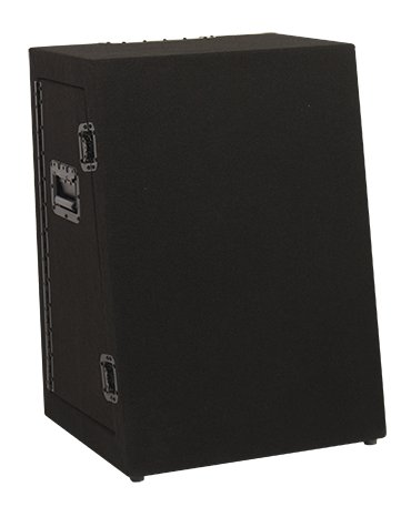 Acclaim Series Portable Lectern Base and Transport Case in Black