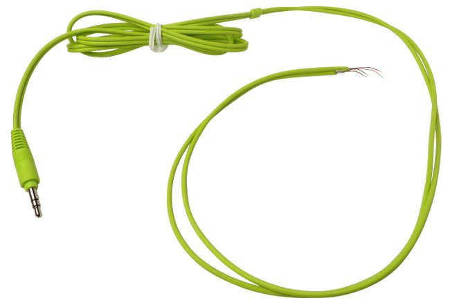 Fostex 1476517285  Green Cord Assembly for TH5W 1476517285