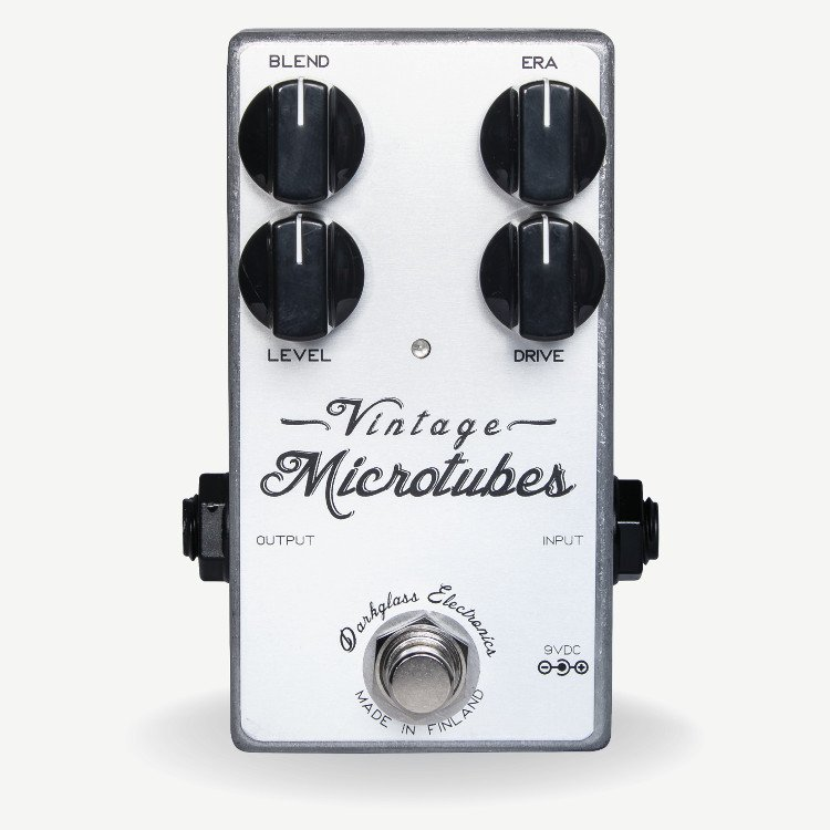 Vintage Overdrive Effects Pedal