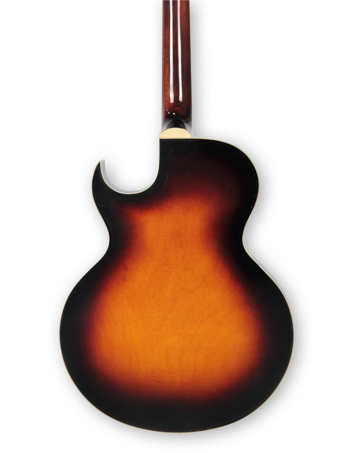 The Loar LH-350-VS Gloss Vintage Sunburst Archtop Cutaway Acoustic/Electric Guitar with Humbucking Pickup LH-350-VS