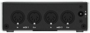 2x2 MIDI Interface for Mac/PC/IOS
