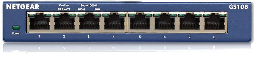 Desktop Switch,8-Port Gigabit