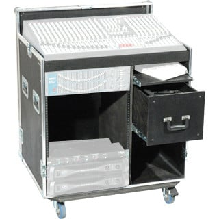 12RU Dual Combo Rack Case