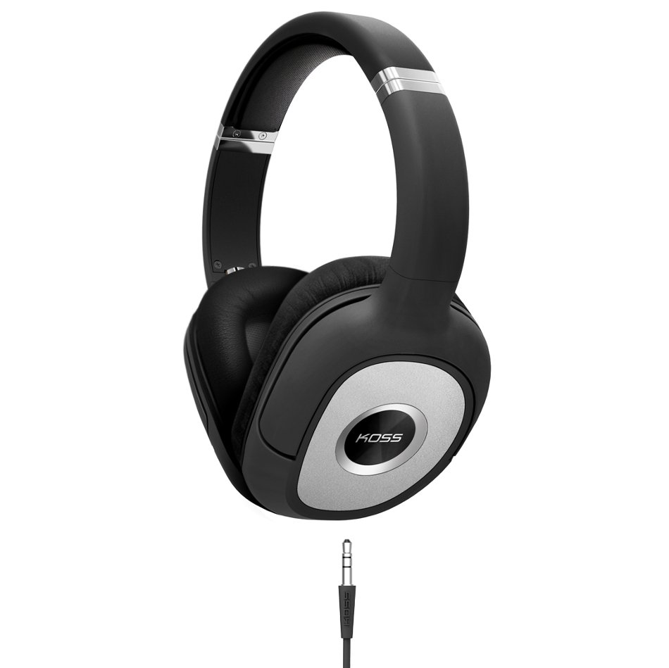 Over-Ear Isolating Headphones with D-Profile and Memory Foam Cushions