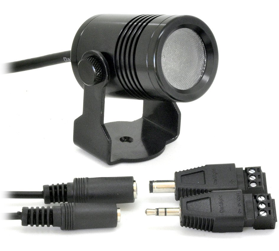 DMX Flood 4W Micro RGBW DMX-Controllable Fixture