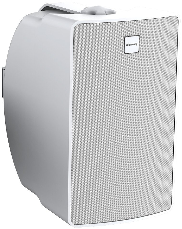 "Commercial Design 6.5"" 2-Way Surface Mount Loudspeaker in White"