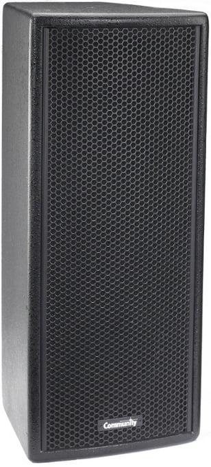 """VERIS 2 Series 2x 6.5"""" Two-Way Full-Range Loudspeaker in White with Built-In 200W Autoforrmer"""