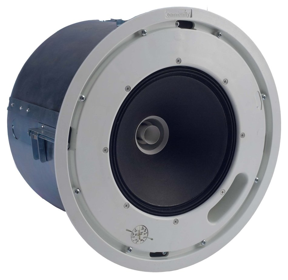 "Distributed Design 10"" 2-Way High Output Coaxial Ceiling Loudspeaker with 8 Ohm & 70V Operation"