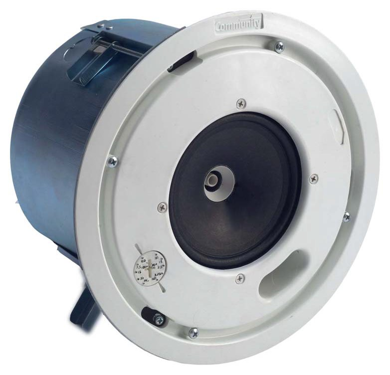 """Distributed Design 4.5"""" 2-Way High Output Coaxial Ceiling Speaker"""