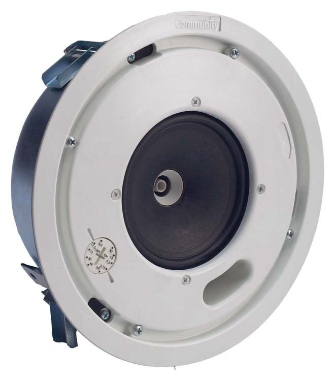 "Distributed Design 4.5"" 2-Way Low Profile Coaxial Ceiling Speaker"