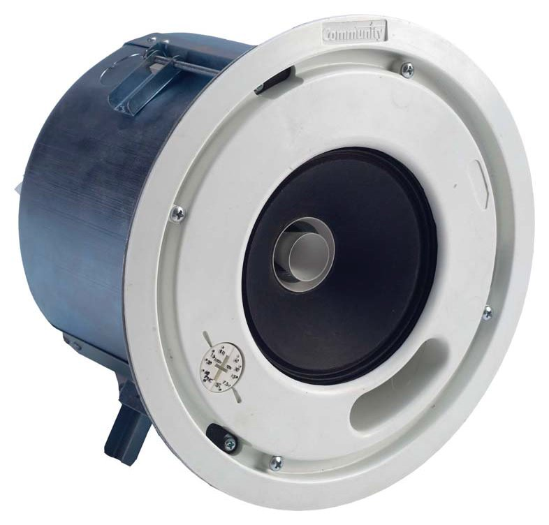 "Distributed Design 5"" 2-Way High Output Coaxial Ceiling Speaker"