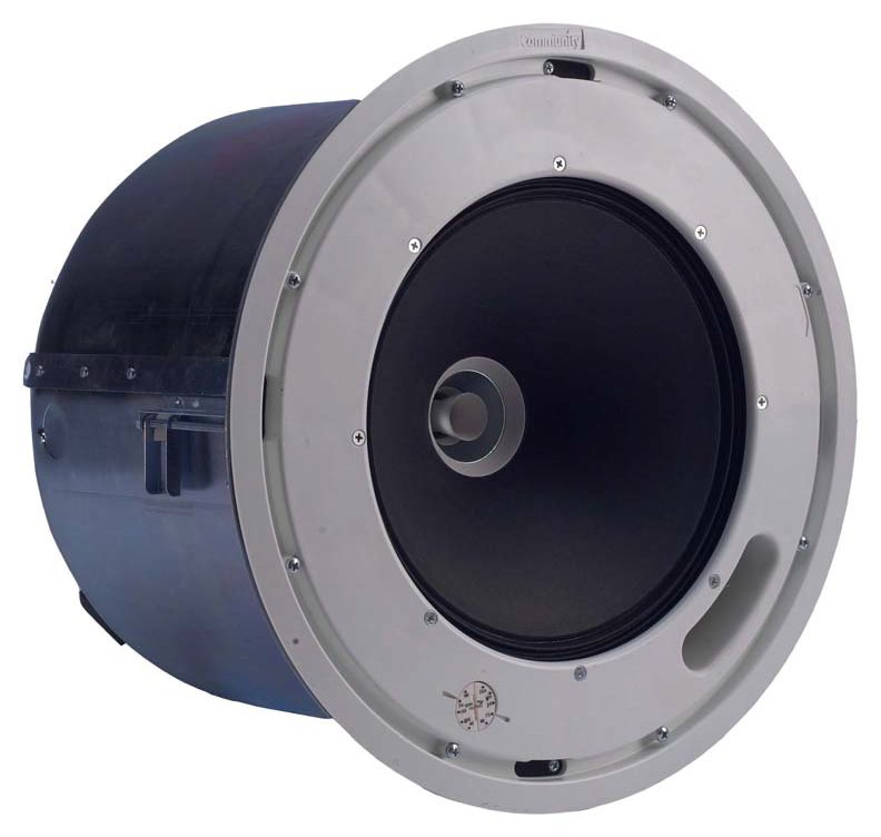 "Distributed Design 8"" 2-Way High Output Coaxial Ceiling Speaker"
