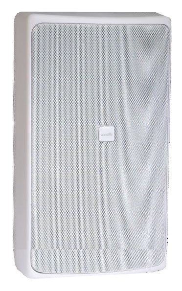 """Distributed Design Series 8"""" 2-Way Coaxial Surface Mount Loudspeaker in White"""