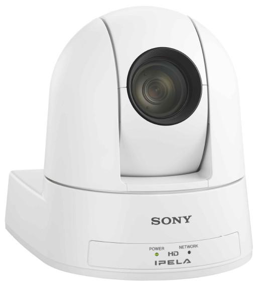 1080-60P 3G-SDI and Live IP Streaming PTZ Camera in White