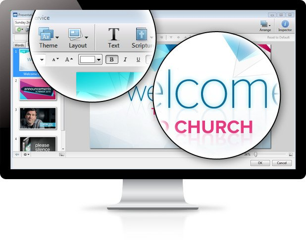 House of Worship Media Presentation Software
