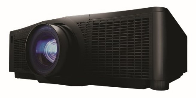 7500 Lumens WUXGA Single Chip DLP Projector in Black