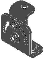 Tilting Bracket for VERIS2 Loudspeakers