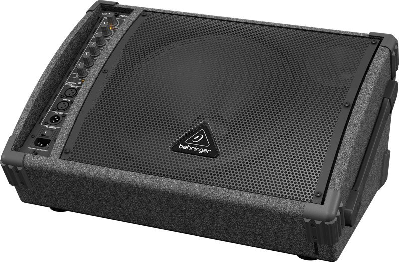 "1x12"" 250W Bi-Amped Monitor Speaker with Feedback Filter"