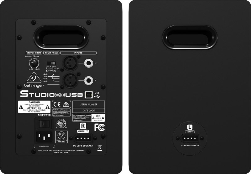 Pair of USB Nearfield Studio Monitors