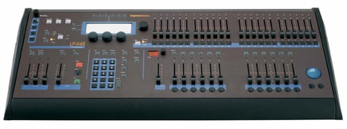 Moving/Conventional Lighting Console