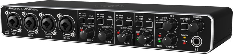 4x4 USB Audio/MIDI Interface