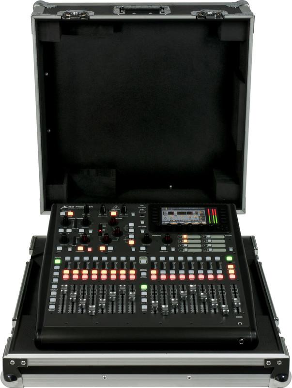 40-Input 25-Bus Digital Mixer with Touring Hard Case