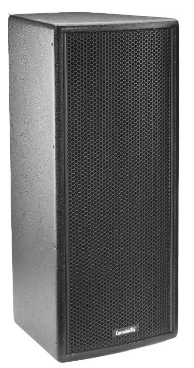 """8"""" 150W 8Ohm 2-Way Speaker in Black"""