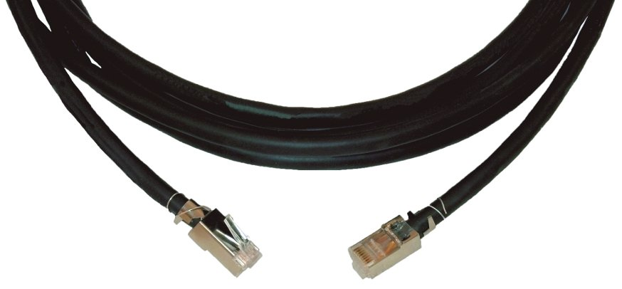 100' Four-Pair STP Data (Shielded Twisted Pair) Plenum Cable (23AWG)