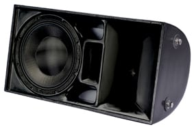 "12"" 3-Way Full-Range WET II Loudspeaker in Black with 60x40 Dispersion"