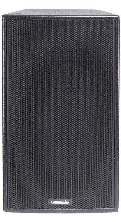 """12"""" 20W 8ohm 3-Way Speaker in Black"""