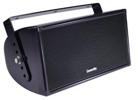 """Dual 8"""" 2-Way WET II Series Loudspeaker in Black"""