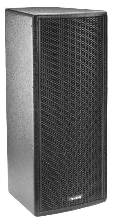 """8"""" 300W 4Ohm 2-Way Speaker in Black"""