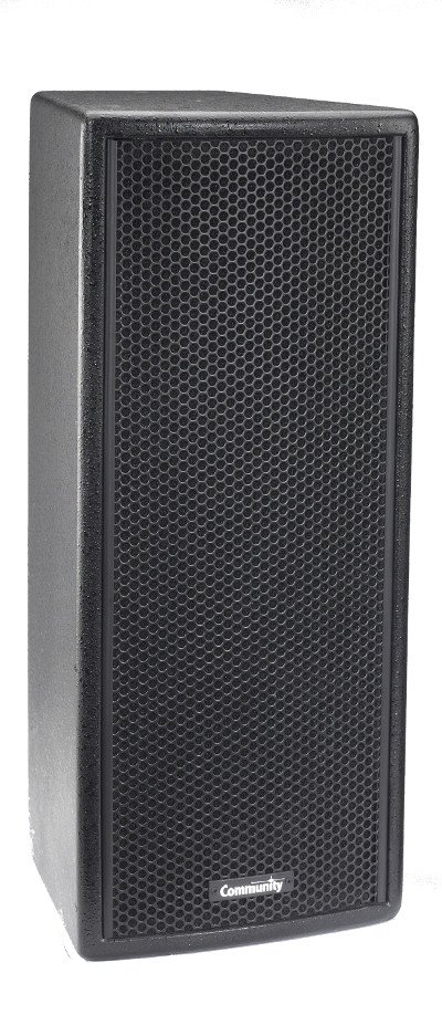 "Community VERIS2 26 6"" 200W 4Ohm 2-Way Speaker in Black VERIS2-26-BLACK"