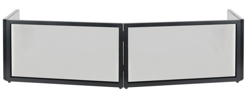 Black and White 4-Panel Facade