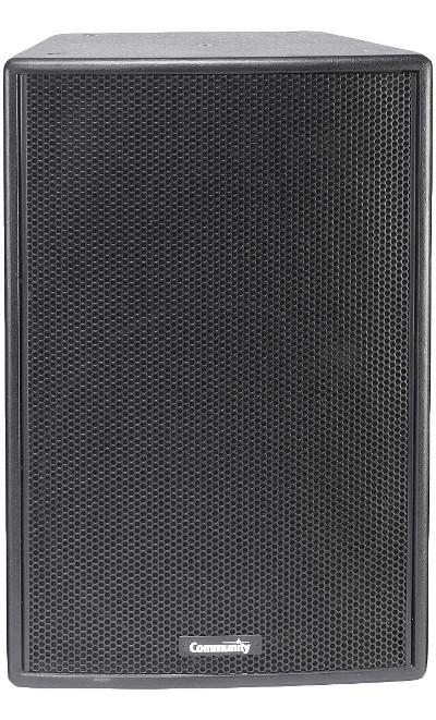 """15"""" 200W 8Ohm 2-Way Speaker in Black"""