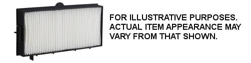 Panasonic ETRFE16  Replacement Filter for PTEX16KU ETRFE16