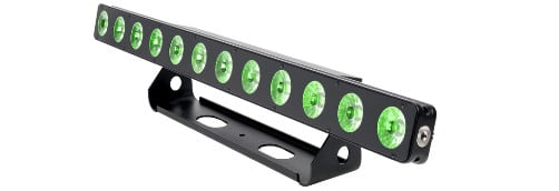 12x12W LED RGBWA-UV Bar Luminaire with ArtNet