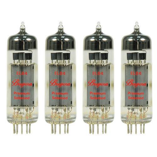 Bugera EL84-4  4-Pack of Pentode Power Amplifier Vacuum Tubes EL84-4