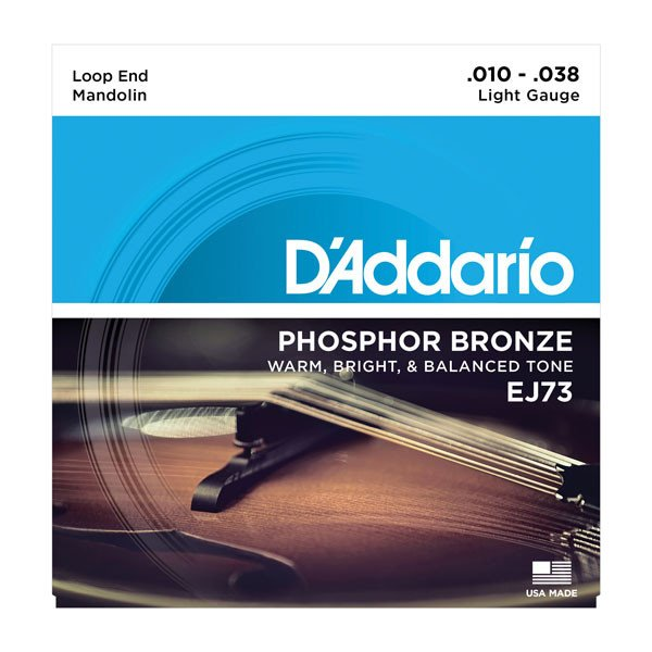 Light .010-.038 Phosphorus Mandolin Strings