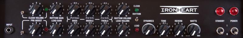 """30W 3-Channel 1x12"""" Tube Combo Guitar Amplifier"""